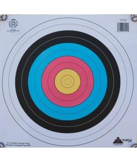 Temple - Blason 40 cm World Archery
