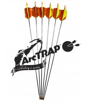 ArcTRAP - Flèche Flu-Flu carbone