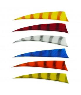 "Bearpaw - Plume naturelle Shield 4"" Barred"